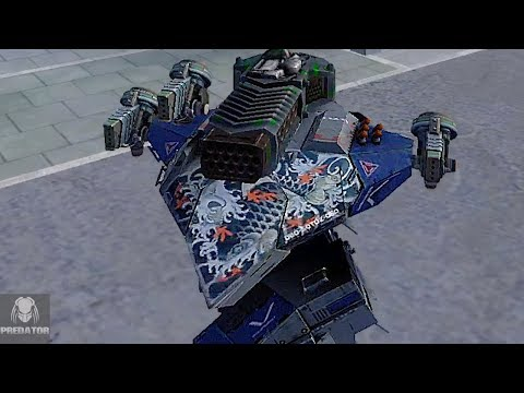 MRK II Leo Thunder/Gust Gameplay In Champion League?   War Robots
