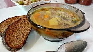 Диетический капустный суп.