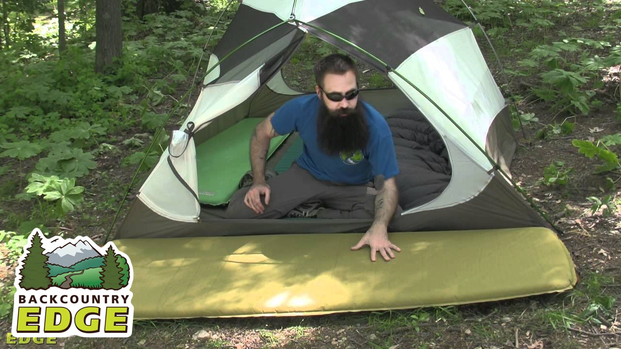 Therm A Rest Trail Pro Self Inflating Sleeping Pad Youtube