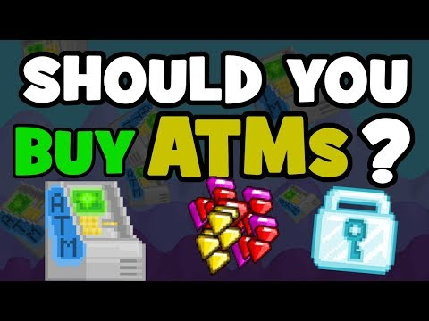 IS IT SMART TO BUY ATMS? | Growtopia