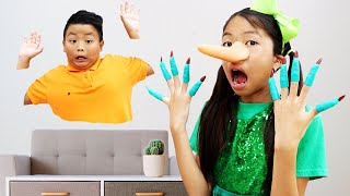 Wendy Pretend Play with Magic Wand Toy | Kids Learn to Not Tell Lies | Children Stories