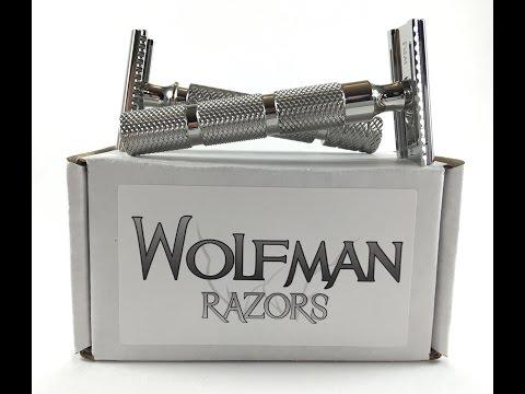 A close look at Wolfman Razors & BIG Wolfman News!