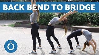How to Back Bend Into a BRIDGE - Warm Up Exercise