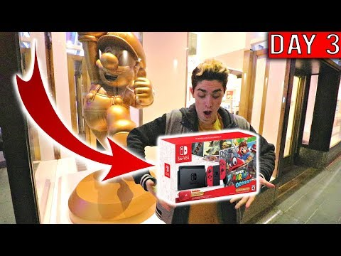 HOW TO WIN YOUR OWN SUPER MARIO ODYSSEY SWITCH FROM NINTENDO NY!