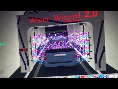water wizard roblox car wash