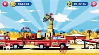 iOS Game Evel Knievel Level 2 Indio All Gold Runs
