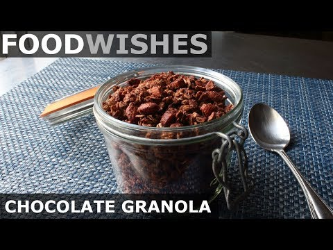 Chocolate Granola Food Wishes