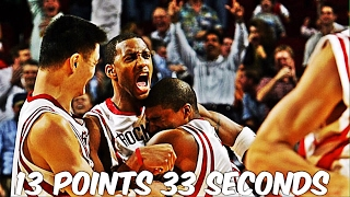 nba most points scored 1 minute