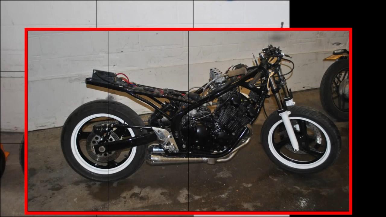 Relativ Yamaha XJ600 Diversion CAFE RACER - YouTube BF61