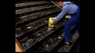 видео Поломоечные машины для чистки лестниц
