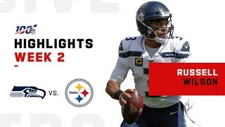 Russell Wilson Throws a Hat Trick w/ 300 Yds & 3 TDs | NFL 2019 Highlights