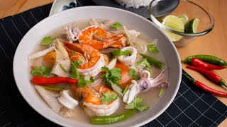 Tomyam Putih ala Restoran Thai