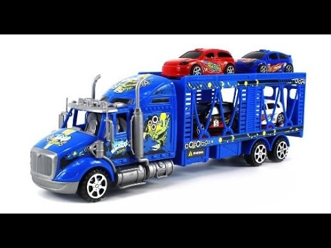 camion jouet transporteur de voitures jouets pour les. Black Bedroom Furniture Sets. Home Design Ideas