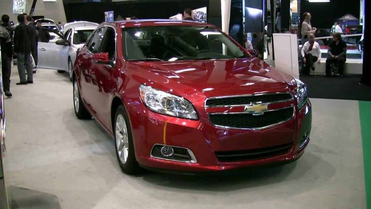 2012 Chevrolet Malibu Exterior And Interior At 2012 Montreal Auto Show