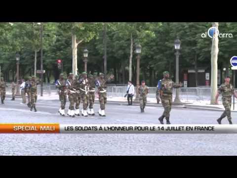 Mali : Les soldats en France pour la fête nationale
