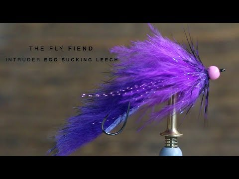 Intruder Egg Sucking Leech Fly Tying Tutorial | The Fly Fiend.