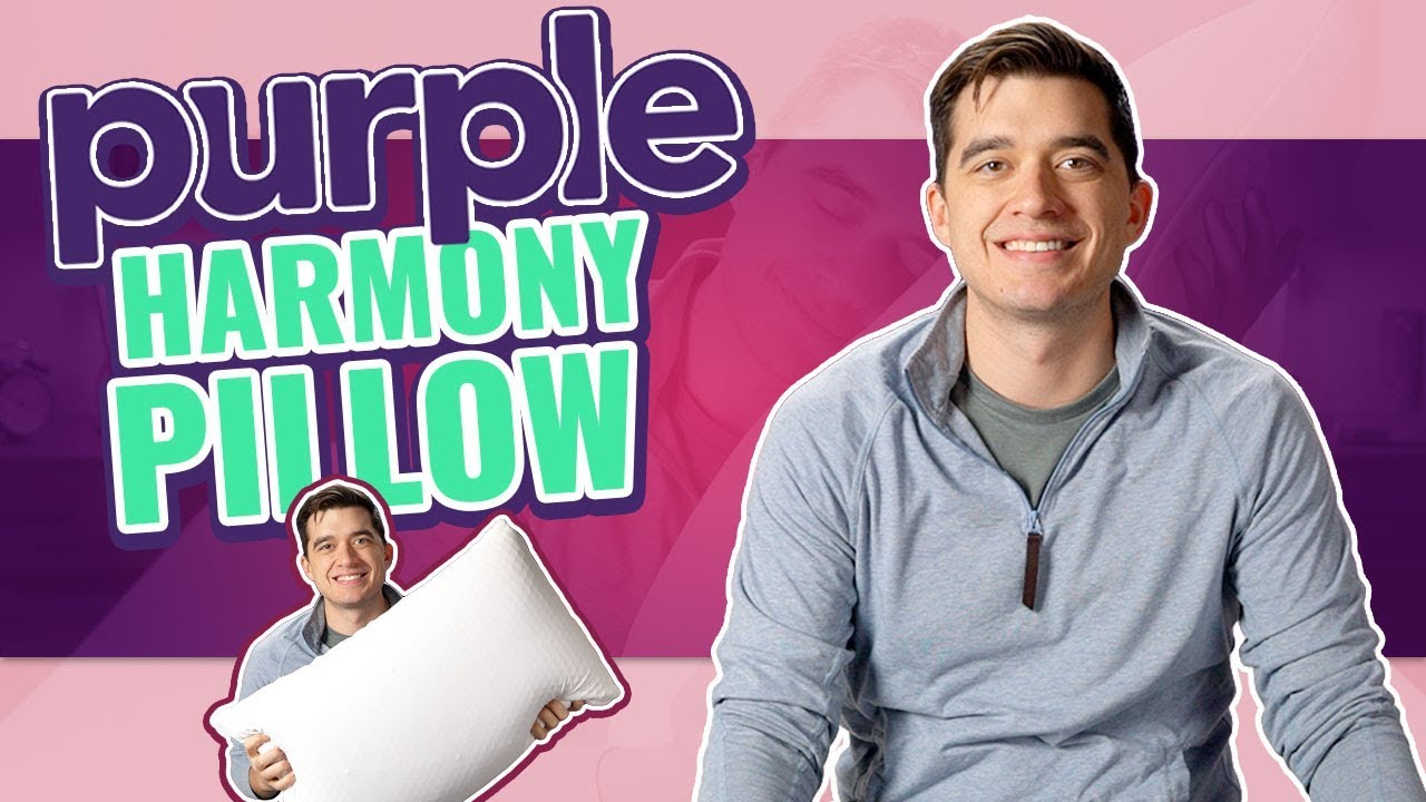 purple harmony pillow review new