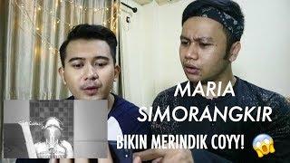Maria Simorangkir - Yang Terbaik [REACTION] MERINDING COY!!!