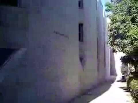 Hebrew University campus in Jerusalem - short clip