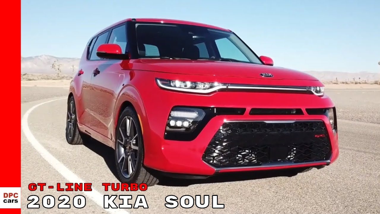 2020 Kia Soul Gt Line Turbo Youtube