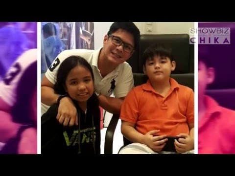 Raymart Santiago talks about his relationship with Claudine and kids
