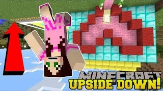 PopularMMOs Pat and Jen Minecraft: *IMPOSSIBLE* UPSIDE DOWN CHALLENGE!!! - Modded Challenge