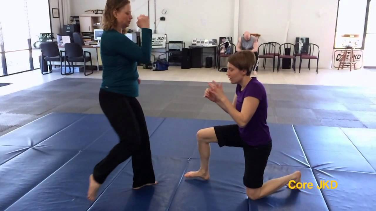 Core JKD Kick Defense - Grounded Opponent