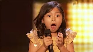 Celine Tam - ALL Performances America's Got Talent 2017 thumbnail