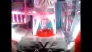 TOKIODELUXE回転中の回転体上で静止するパチンコ玉 転載