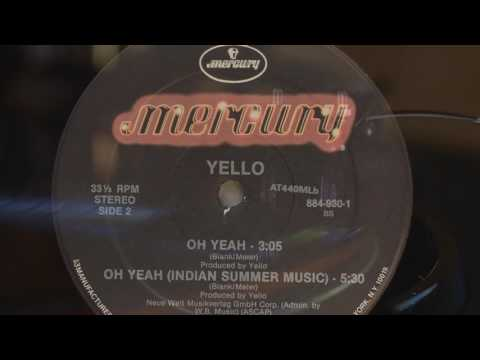 "YELLO - Oh Yeah! - 1985 Vinyl 12"" Single"