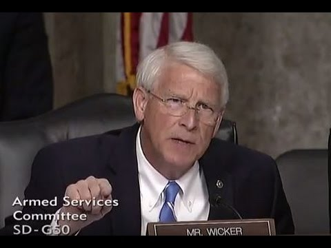 Wicker Outlines Administration's Failures in Syria