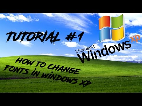 Tutorial - How to download and install new fonts in Windows XP