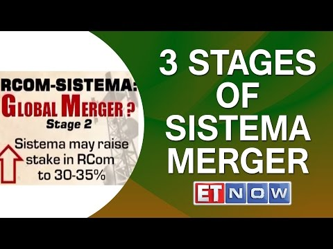 Reliance Communications - Sistema Merger To Be Done In 3 Stages | ET NOW EXCL