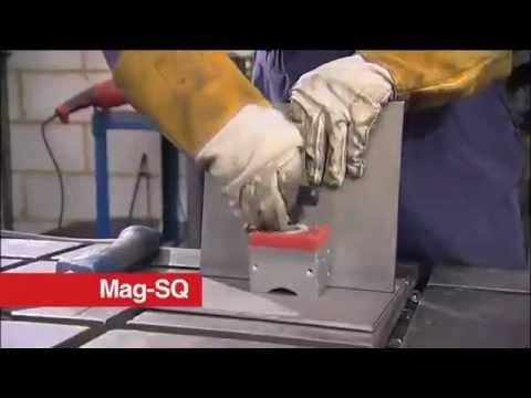 Отключаемые магнитные угольники для сварки - YouTube