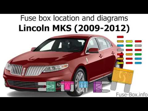 fuse box location and diagrams: lincoln mks (2009-2012 ... 2005 lincoln navigator fuse box location 2009 lincoln mks fuse box location