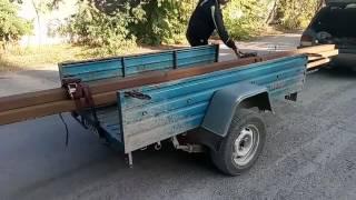 Как перевезти металл 6 метров длинной
