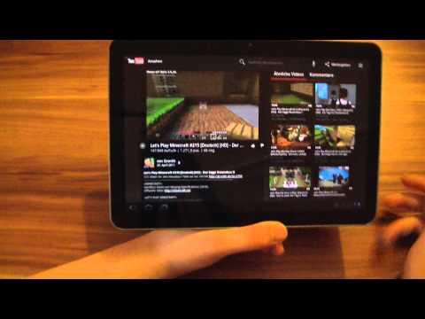 Samsung Galaxy Tab 10.1V ausführlicher Testbericht
