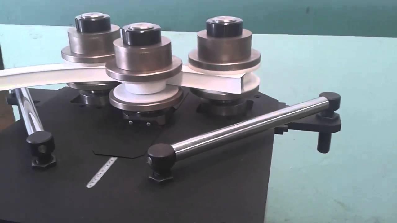 Hvm50 curvadora de perfiles dobladora de tubos for Uniones para perfiles cuadrados de aluminio
