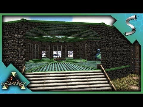 BUILDING THE BREEDING OUTPOST! BREEDING PENS AND RAISING AREA! - Ark: RAGNAROK [DLC Gameplay S3E65]