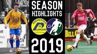 Michael Cunningham Indoor Season Highlights 2019   Goals, Assists, Dribbles, Passes