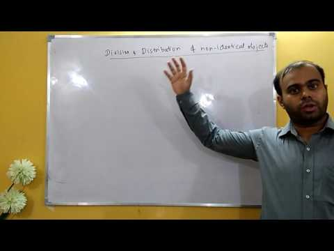 Example : Division & Distribution of Non-Identical Objects