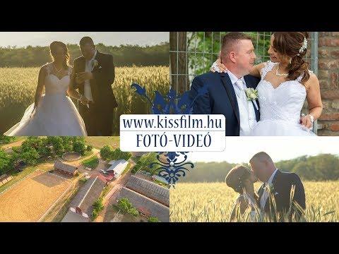 Malvina és Csaba esküvője -TB-Ranch, Nyíradony   KISSFILM.HU