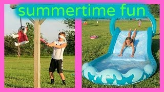 SUMMERTIME FUN IN THE SUN