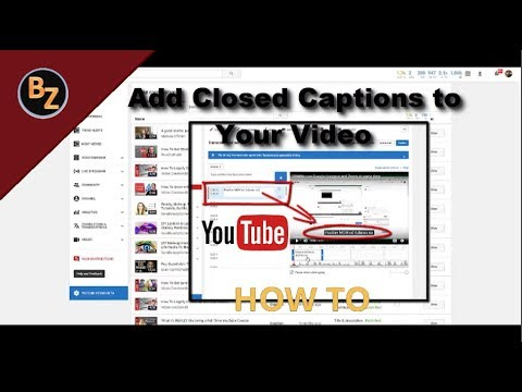HOW TO ADD CLOSED CAPTIONS/SUBTITLES TO YOUR VIDEO CC