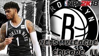 2020 Offseason! - Nets My League Episode 11 - NBA 2K18