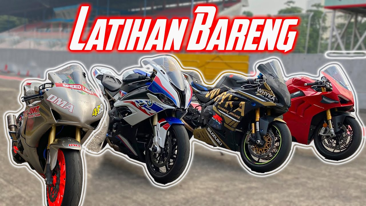 TrackDay!! Cornering Bareng Para Suhu Sentul | Ducati BMW GSX1000