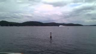 $10,750 boat ride, 48' MTI Phantom @ 2012 Shootout