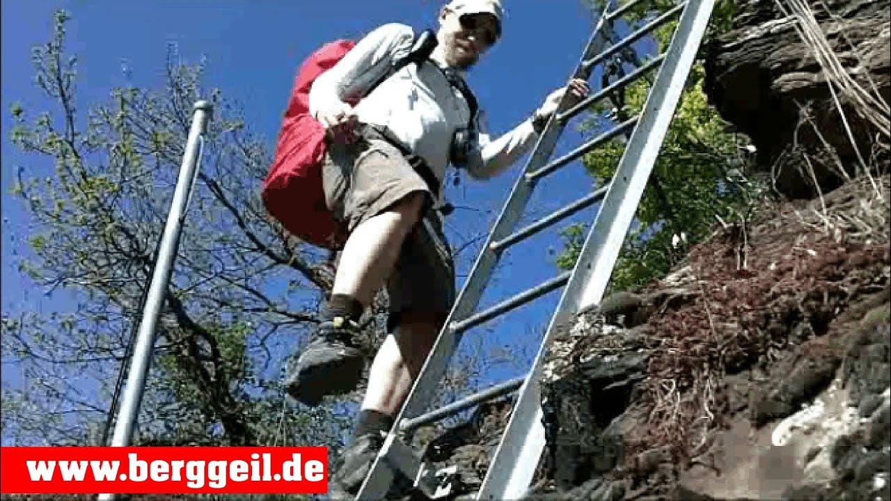 Klettersteig Riol : Der rabenley klettersteig an mosel youtube