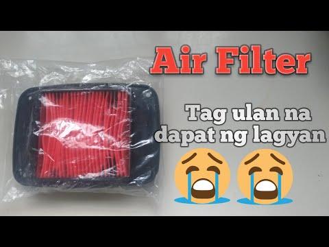 Honda XRM Air filter Replacement