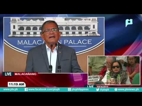 Press conference at Malacañang Media Center, August 22, 2016